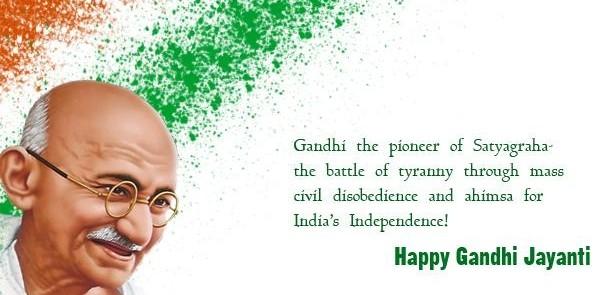 Gandhi Jayanthi
