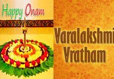 Varamahalakshmi Vratha/Onam