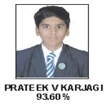Prateek V Karjagi