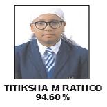 Titiksha M Rathod